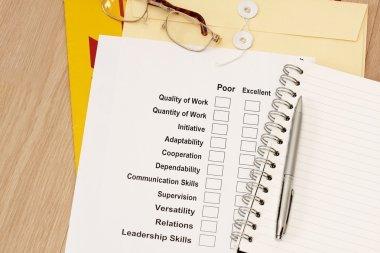 Appraisal Survey
