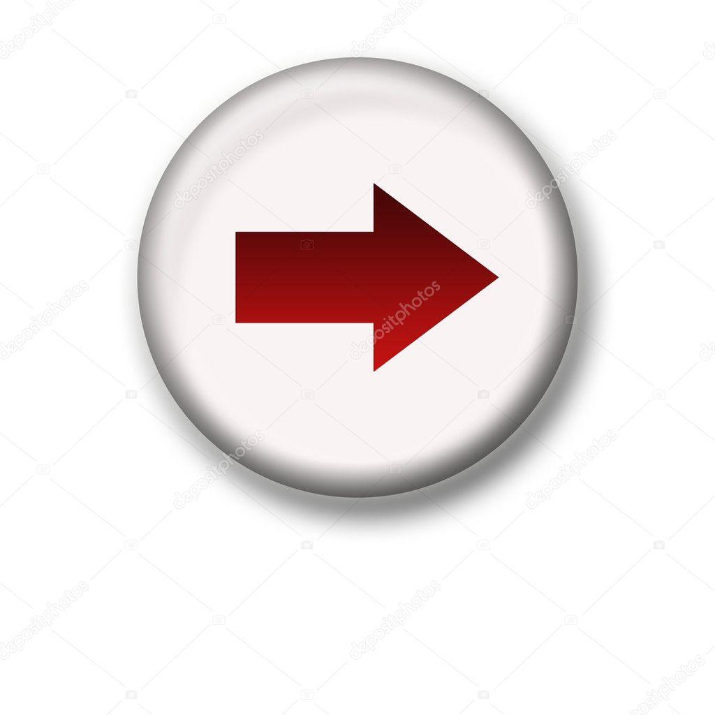 Illustration of an arrow icon - forward