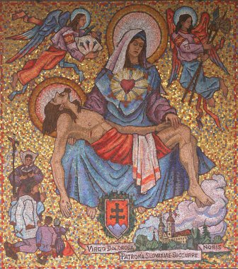 Icon of Madonna