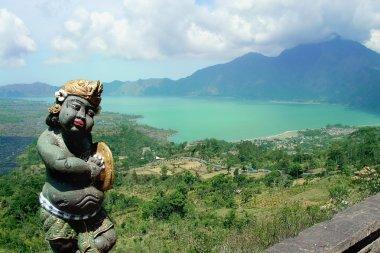 View to volcano Kitamani. Bali