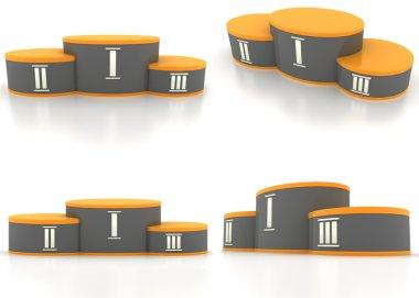 Pedestal (four view)