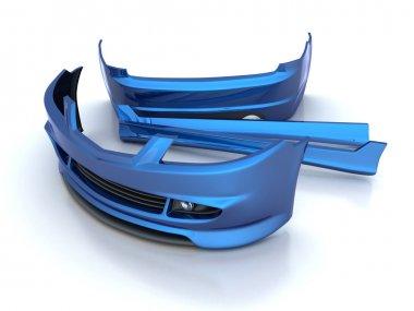 Sporting repair parts (blue)