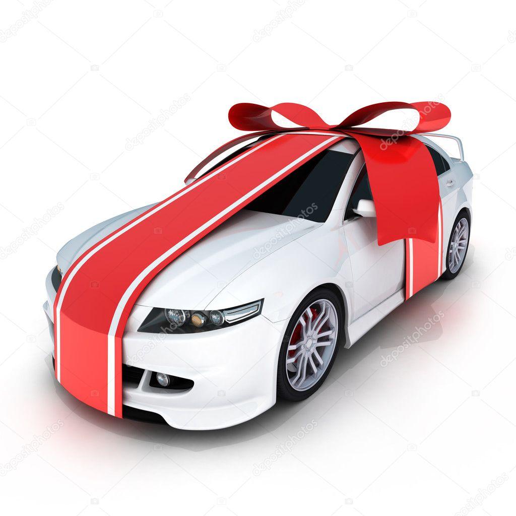 gift car stock photo vladru 2465325. Black Bedroom Furniture Sets. Home Design Ideas