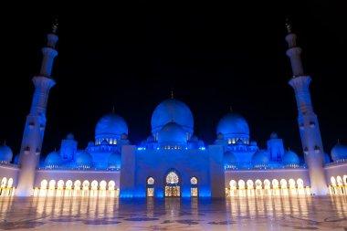Sheikh zayed mosque in Abu Dhabi, UAE, M