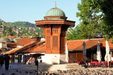 Historical fount in Sarajevo