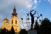 Fényképek ortodox templom Szarajevóban, Bosznia