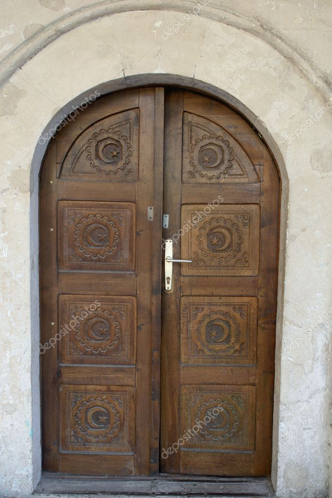 Mosque Door, Sarajevo Bosnia Herzegovina U2014 Stock Photo