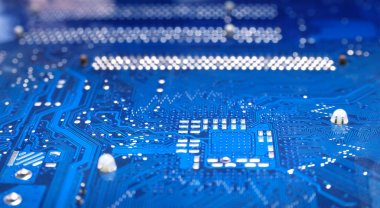 Motherboard's electronic circuit
