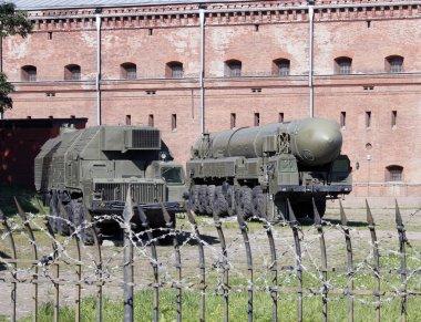 The Soviet rocket complex