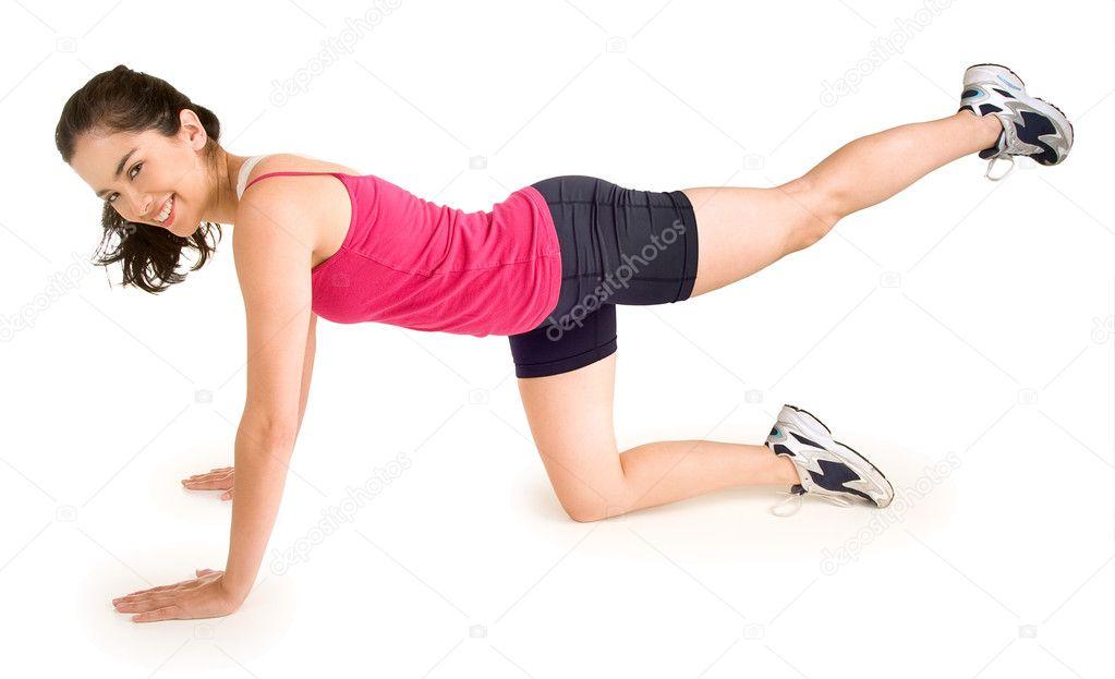 Упражнения для похудения верхней части тела
