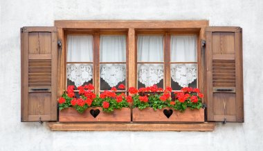 Old European Wooden Windows