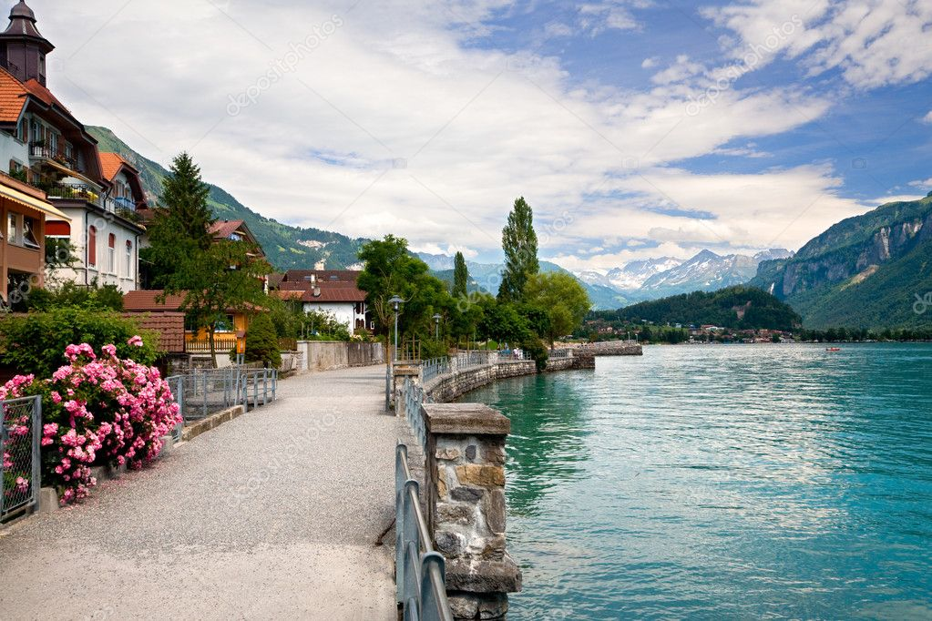 Lake in Brienz, Berne, Switzerlan