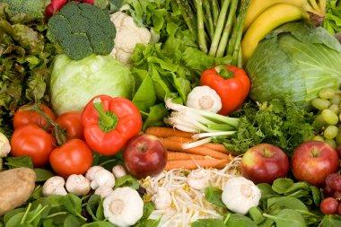 Vibrant Produce Closeup