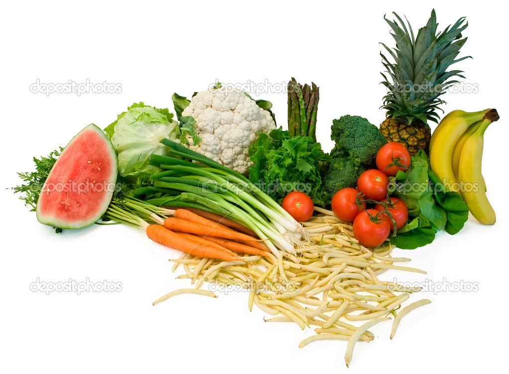 Veggies and Fruits Arrangement