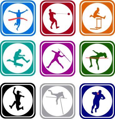 Athletics icons
