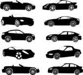 Fotografie sportovní vozy