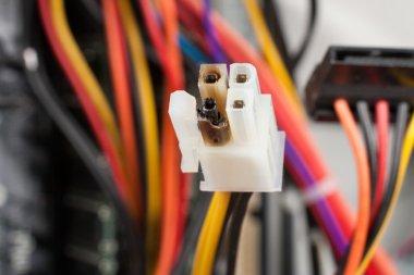 Burned Power Plug