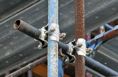 Scaffolding clamps