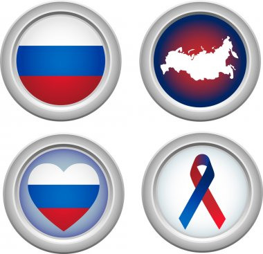 Buttons Russia