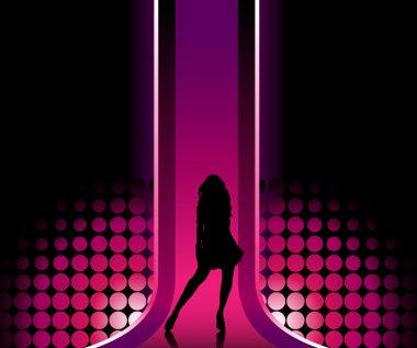 Girl in Catwalk
