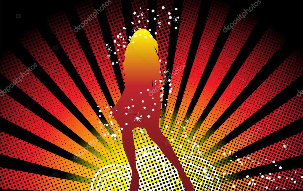 Girl Dancing Stars
