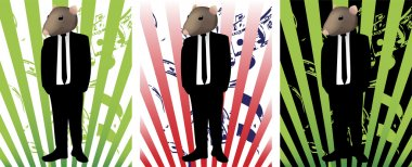 Rat in Suit