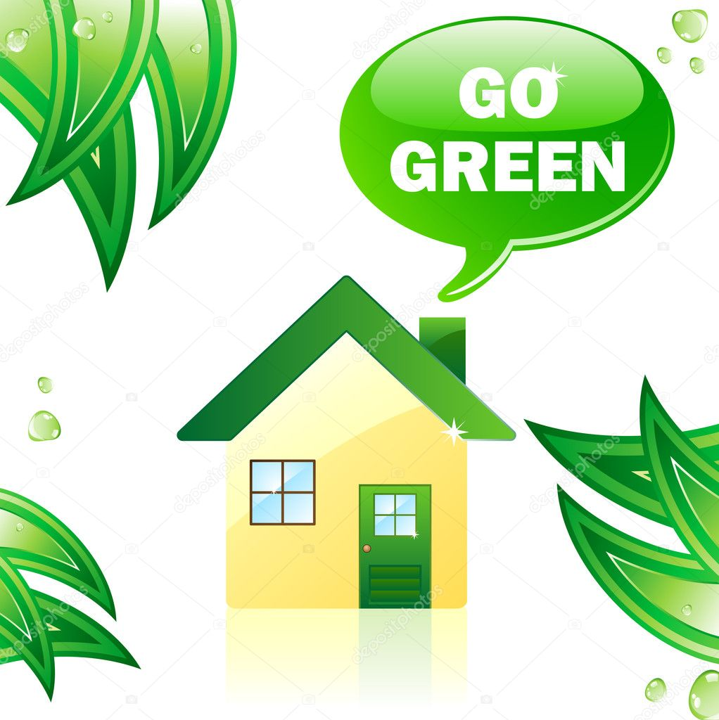 Go Green Glossy House.