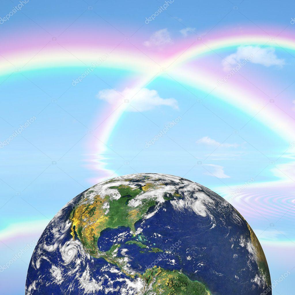 Heaven and Earth Beauty — Stock Photo © marilyna #2057316