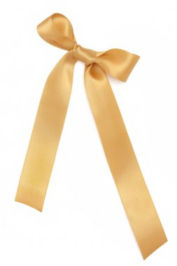 Gold Ribbon and Bow
