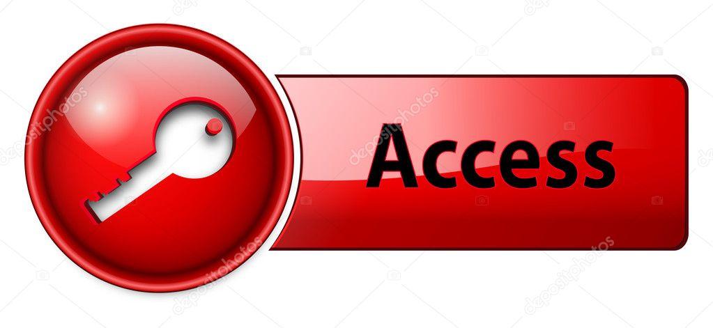access のアイコン ボタン ストックベクター cobalt88 2240383