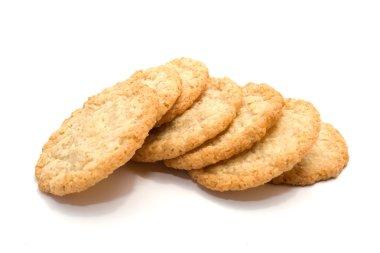 Heap of sugar cookies