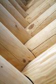 Fotografia astratto in legno
