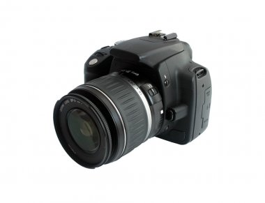 DSLR canon EOS 350d isolated