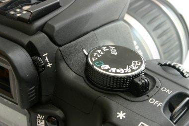 Canon EOS 350 back