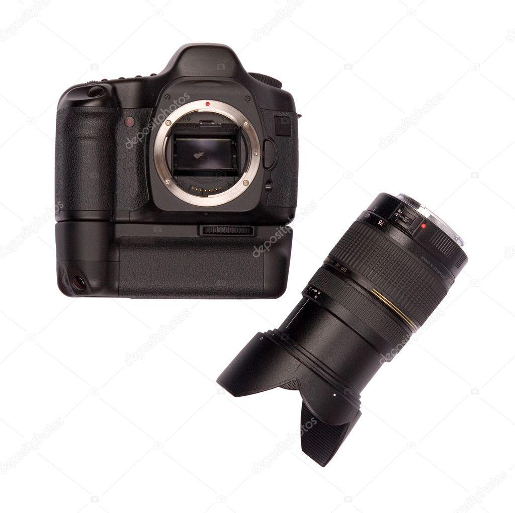 cámara de fotograma completo digital — Foto de stock © furzyk73 #2004637