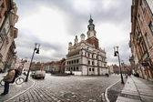 Fotografie stará radnice v Poznani