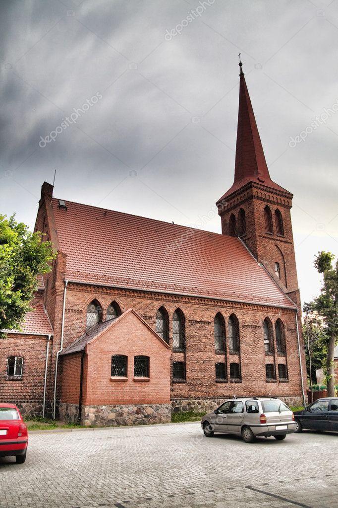 Фотообои An old church