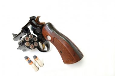38 Caliber Revolver And Ammunition