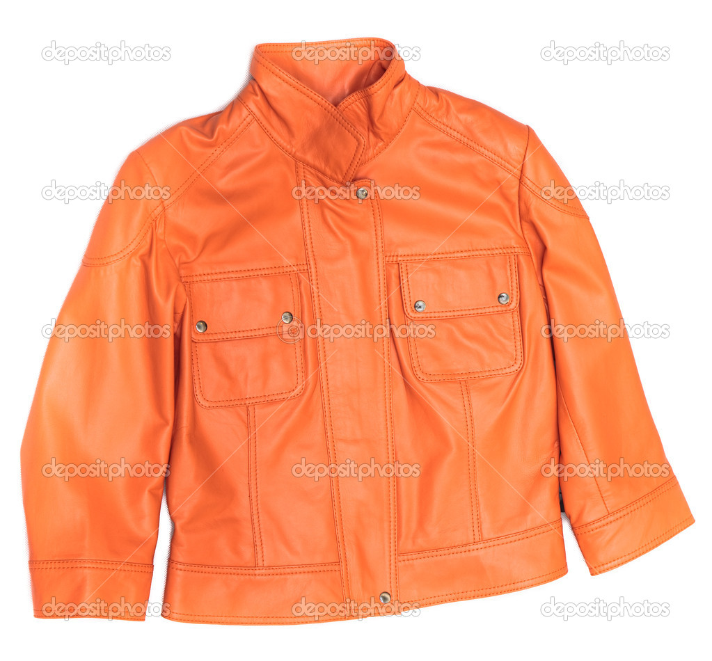 De Chaqueta De Naranja Cuero Cuero Naranja Chaqueta Naranja Chaqueta De Cuero gqfw8xx