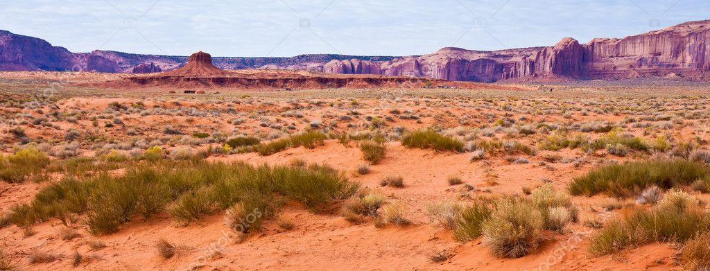 Monument Valley Desert Panorama