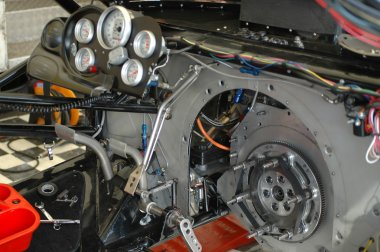 Dragster interior