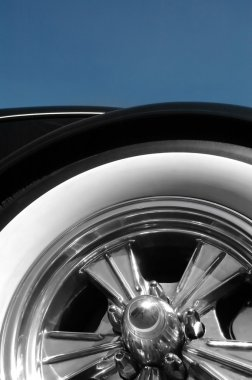 White walled tire
