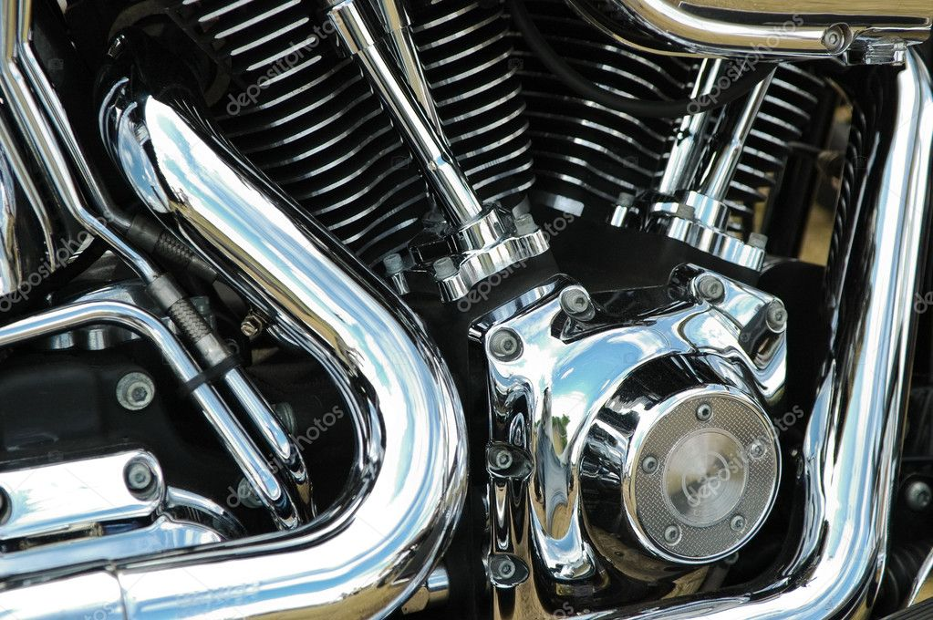 Motorcycle reflections