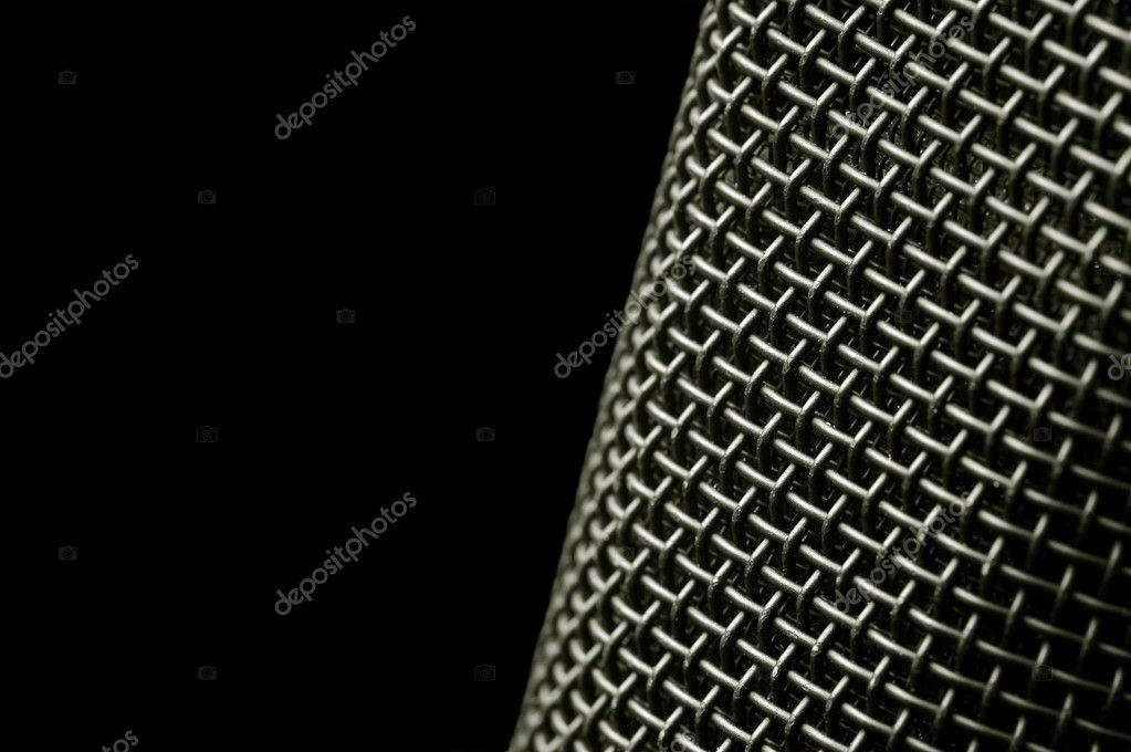 Microphone mesh