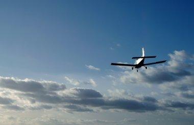 Aircraft sunset
