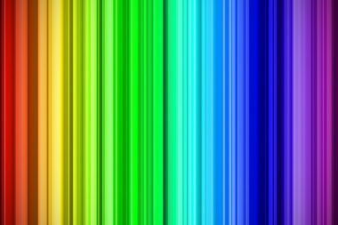 Rainbow strokes abstract background