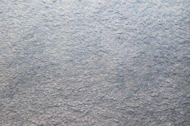 Pale blue frotte textile background
