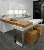 elegantní a luxusní kuchyně interiér