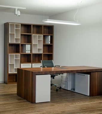 Elegant and luxury office interior.