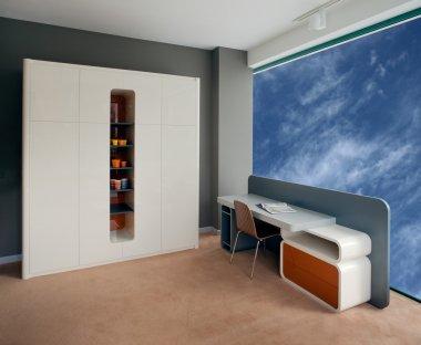 Elegant child room interior design.